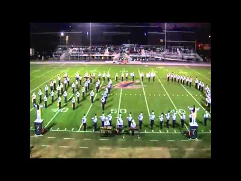 Elco High School marching band 2014