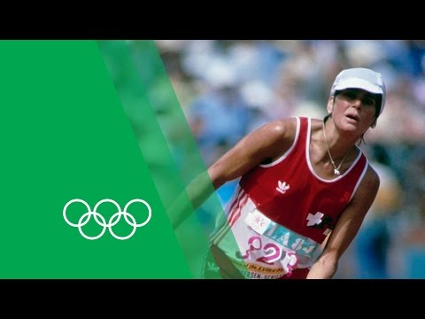 An Unforgettable Marathon Finish - Gabriela Andersen-Schiess | Olympic Rewind