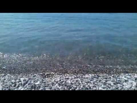 "Релакс на пляже пансионата ""Багрипш"". Абхазия. п. Холодная речка. Июнь 2019 год."
