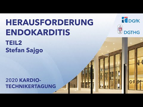 Herausforderung Endokarditis | Stefan Sajgo, Ulm | Virtuelle Kardiotechnikertagung 2020
