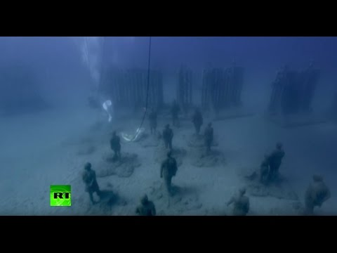 Atlantic Museum: Europe's first underwater museum opens in Spain
