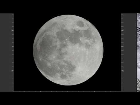 LIVE Penumbral Lunar Eclipse - 10 Inch Dobsonian Telescope - Back yard astronomy video