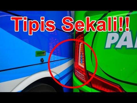 Beginilah Kehandalan Driver Bus Tronton PO. Pandawa 87 Diuji!! | Parkirnya Ribet