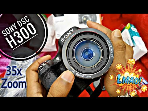 sony-dsc-h300-camera-unboxing,-detailed-review,-picture-and-video-samples