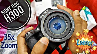 Sony DSC H300 Camera Unboxing, Detailed Review, Picture And Video Samples