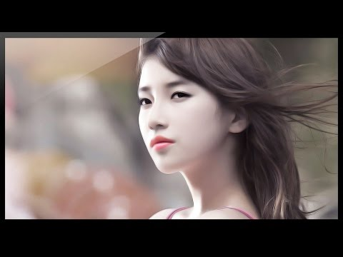 Photoshop Tutorial Photo Effects - Digital Painting Effect