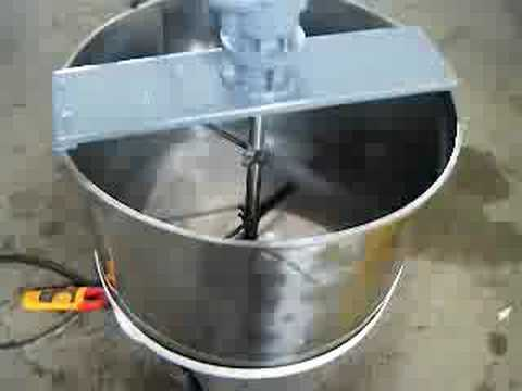 Genemco's 1996 Stainless Steel Double Tank With Mixer