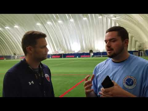 Mike Pelletier interview with Albany Empire HC Rob Keefe, April 12, 2018