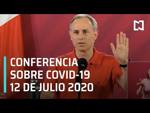 Conferencia Covid-19 en México - 12 de Julio 2020