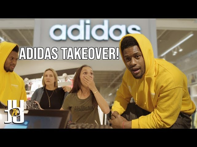 JuJu Buys the Entire Adidas Store for Random People!