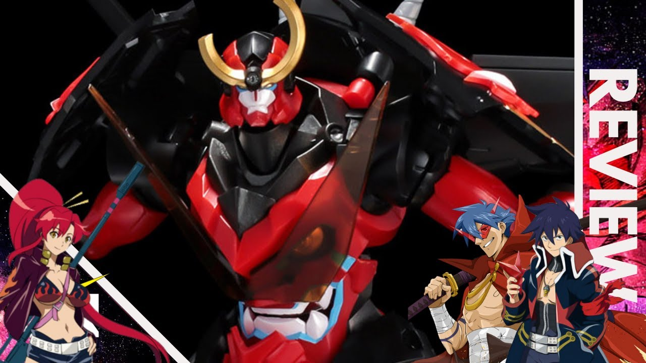 Plaiobot Gurren Lagann ''Build Toward The Heaven'' | REVIEW