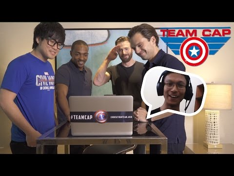 Chris Evans Video Calls A Malaysian Fan!