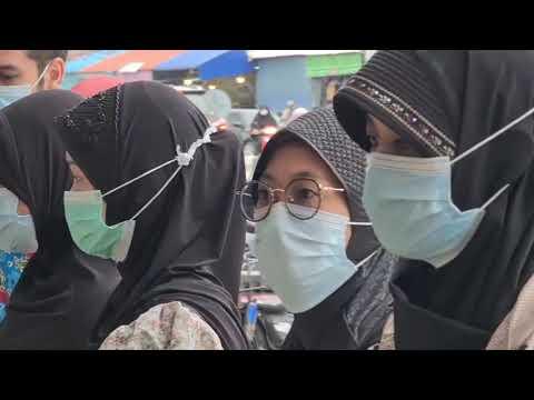 ยะลา พี่น้องชาวไทยมุสลิม แห่ไปซื้อแกงถุง คาว-หวาน อย่างคึกคักรับเดือนรอมฎอน