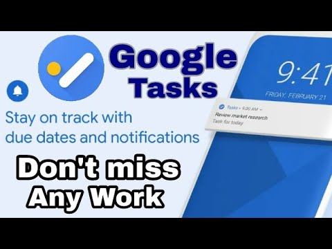 Google Tasks, Any Task, Any Goal, Get Things Done