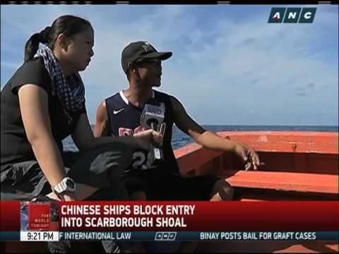 Filipino fisherman return empty-handed from Scarborough