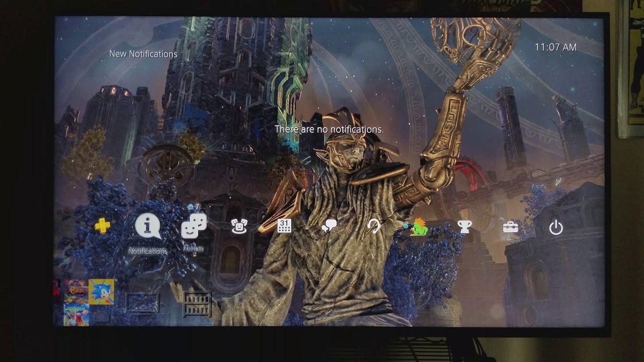 The Elder Scrolls Online Clockwork City Dynamic Theme Ps4
