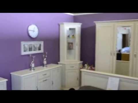 Корпусная мебель Тиффани АНРЕКС: комоды, витрины, тумба ТВ для гостиной