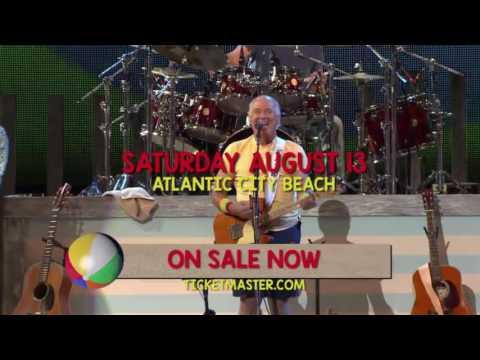 Jimmy Buffett Atlantic City Beach Concert 2016