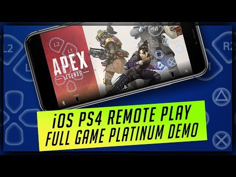 PS4 Remote Play iOS App Review - Play PS4 Games on iPhone & iPad - How it Works & Full Platinum Demo