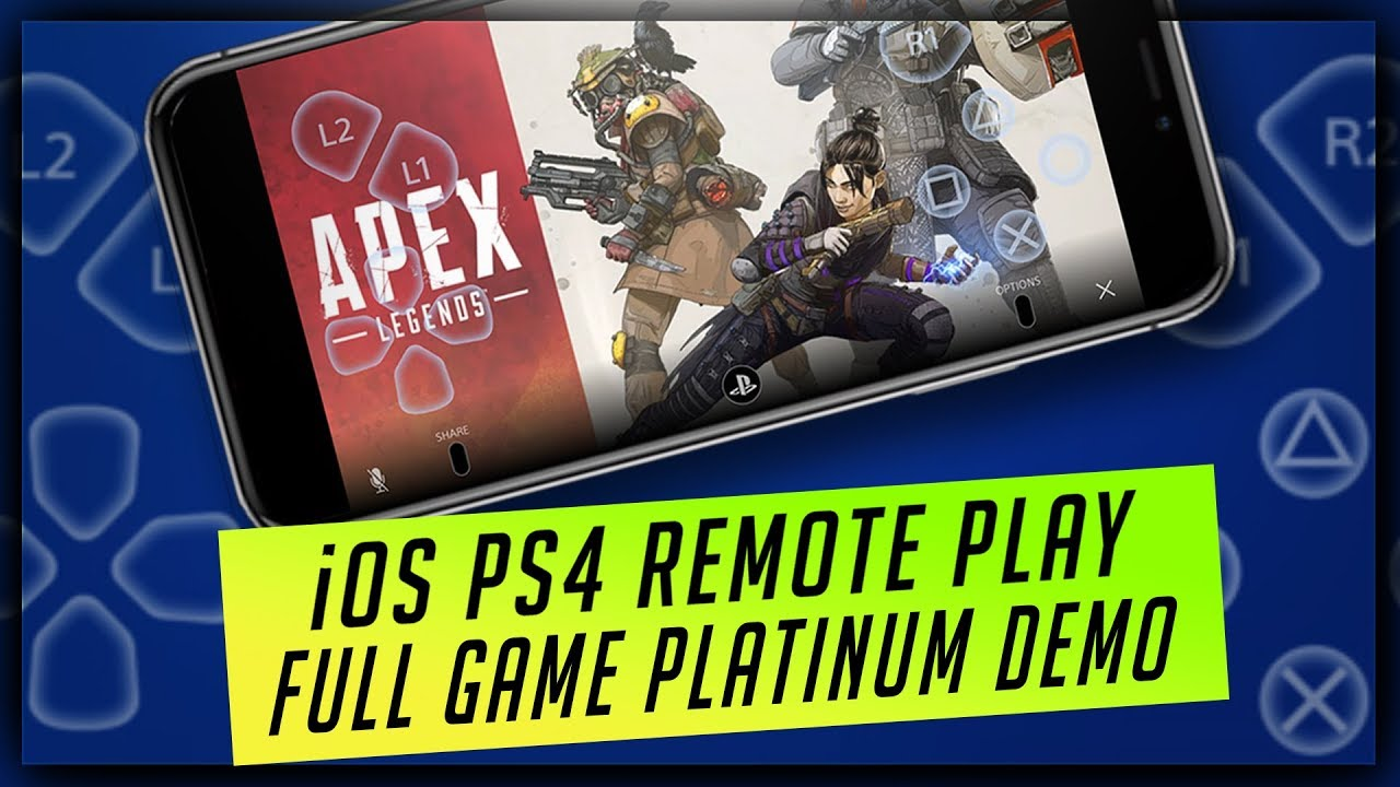 PS4 Remote Play iOS App Review – Play PS4 Games on iPhone & iPad – How it Works & Full Platinum Demo