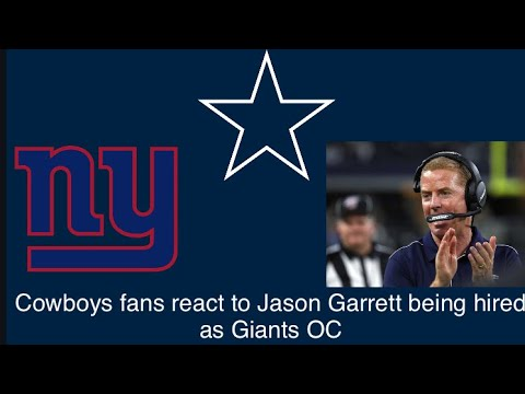 NFL fans react to the New York Giants hiring Jason Garrett
