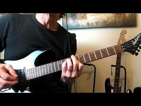 How To Play The Guitar Riff To 21st Century Schizoid Man - Robert Fripp / King Crimson