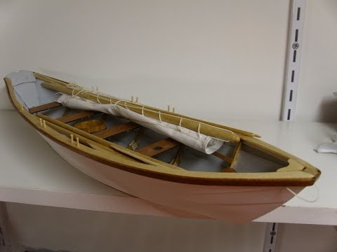 Bluejacket Shipcrafters Grand Banks Dory Part 2 (Build)