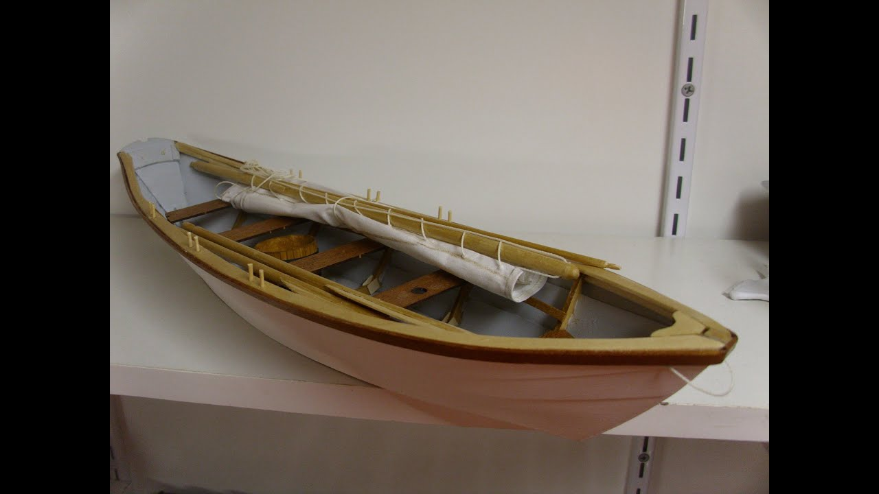 Bluejacket Shipcrafters Grand Banks Dory Part 2 (Build ...
