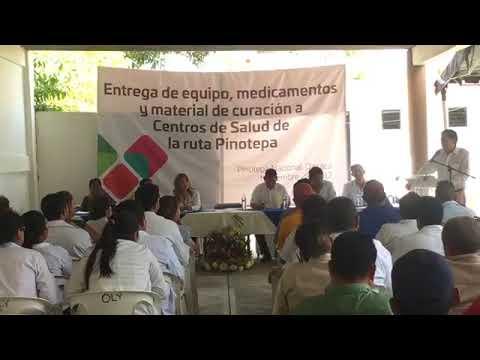 Secretario de Salud en Pinotepa Nacional Oaxaca