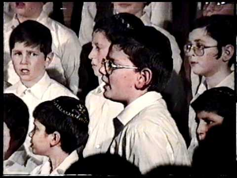1992 Hebrew Academy of Cleveland Choir - V'NiSmach