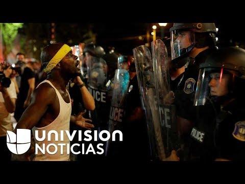 Tercer día de protestas en Missouri por liberación de policía blanco que baleó a un afroamericano