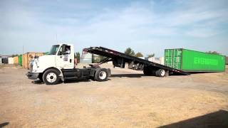 40' Container Loading & Unloading (Tulsa Cargo & Shipping Containers) Budgetbox