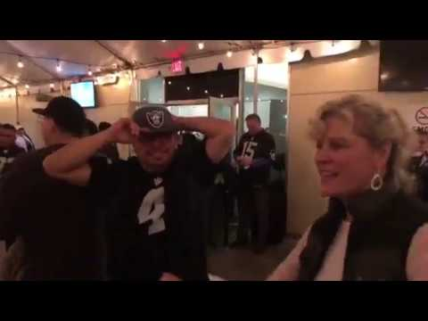 Raiders Fans Dance Party At Oakland Coliseum After Win vs KC Chiefs #KCvsOAK