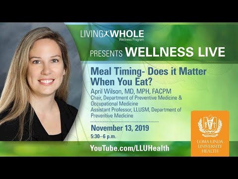 Meal Timing Does it Matter When You Eat?
