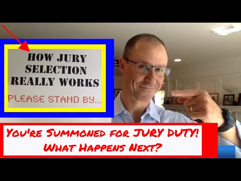 REVEALED! How Jury Selection REALLY Works - A Behind-the-Scenes Look from a Malpractice Attorney