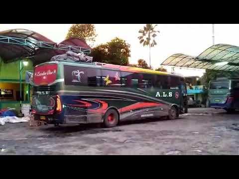 KEDATANGAN BUS ALS DARI MEDAN-PULOGADUNG JAKARTA TIMUR