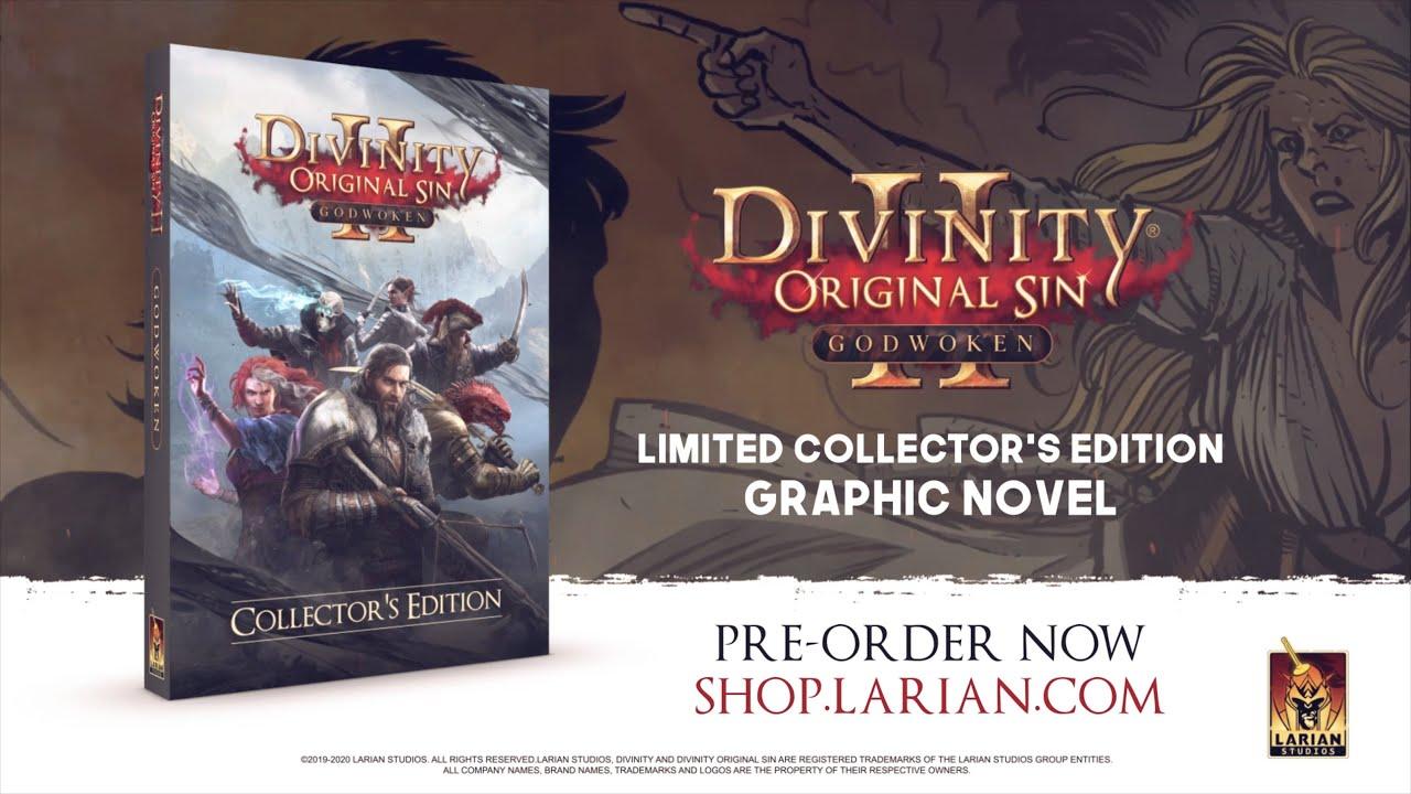 Divinity: Original Sin - Godwoken Graphic Novel Trailer