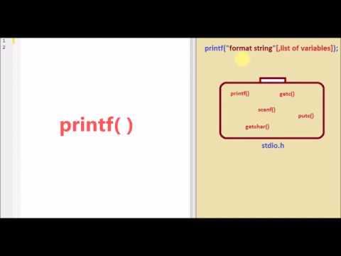 printf Function