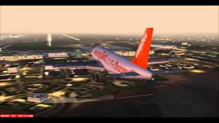 FS9  - EasyJet A320 -  Landing Paris CDG [Online Server]