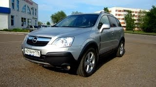 2008 Opel Antara. Start Up, Engine, and In Depth Tour