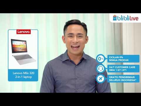 Blibli Live - Lenovo miix 320