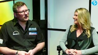 Sammi quizzes hubby james on the premier league, his greatest moment in darts and if he will change anything ahead of world series?