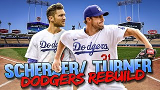 LOS ANGELES DODGERS REBUILD WITH MAX SCHERZER & TREA TURNER in MLB The Show 21