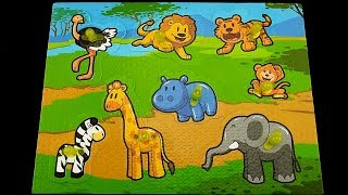 "😀Go Grow Fun😀 EP42 ""Animals Puzzle"""
