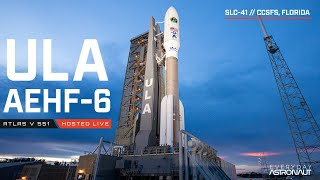 Watch the first Space Force launch on ULA's mighty Atlas 551!!!