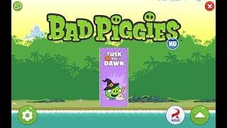 Bad Piggies. Tusk 'Til Dawn (Bonus level 1) 3 stars Прохождение от SAFa