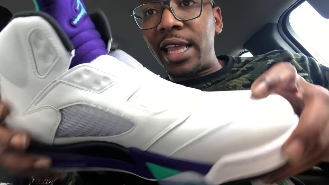 7be554dd64a527 Jordan 5 Fresh Prince in hand review no long stories!! - YouTube