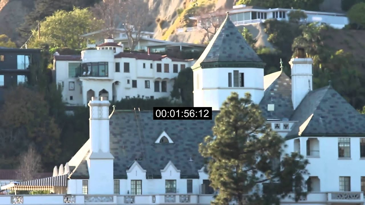 Cau Marmont Hotel West Hollywood Sunset Blvd California Stock Footage You