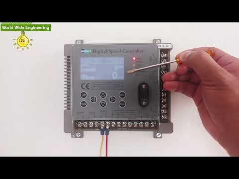 Digital Engine Speed Controller, DSC-1000, Doosan, Electronic Governor,  Actuator