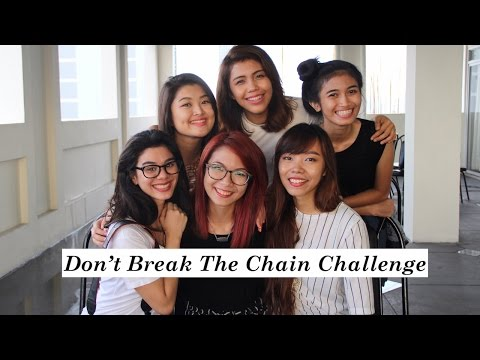Don't Break The Chain Challenge ft. Youtube Squad